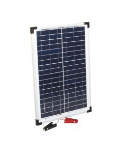 Solar panel 15 W with croc clips